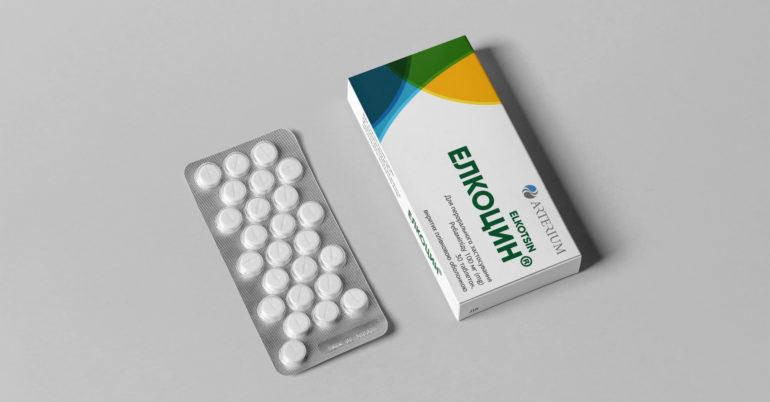 Дизайн упаковки и рекламная кампания для препарата «Элкоцин»