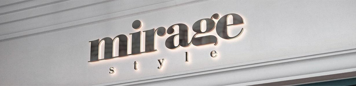 Разработка айдентики и визуальной коммуникации бренда Mirage Style